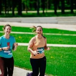 Trase Maratons Mežaparkā '21 - Zane Sinicina (282), Lāsma Helviga-Budriķe (283)