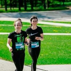 Trase Maratons Mežaparkā '21 - Lilita Sebre (251), Viktorija Dembovska (252)