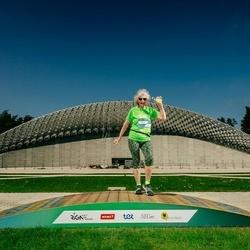 Trase Maratons Mežaparkā '21 - Silvija Čevere (164)