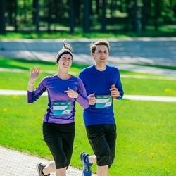 Trase Maratons Mežaparkā '21 - Olegs Nikolajevs (842), Jelizaveta Gurmane (843)