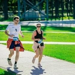 Trase Maratons Mežaparkā '21 - Aigars Nords (295), Mārīte Straume (458)