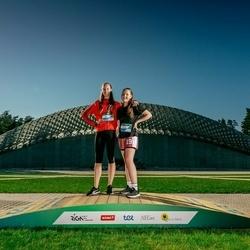 Trase Maratons Mežaparkā '21 - Madara Rumpe (211), Marta Gruziņa (217)
