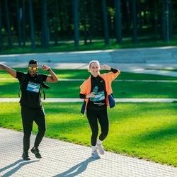 Trase Maratons Mežaparkā '21 - Evita Krevņeva (777), Sarvesh Vijaya (831)