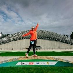 Trase Maratons Mežaparkā '21 - Anastasija Tetarenko (565)
