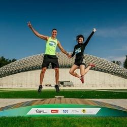 Trase Maratons Mežaparkā '21 - Renārs Brālis (173), Jana Taujēna (197)