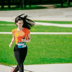 Trase Maratons Mežaparkā '21 - Annija Purcena (259)