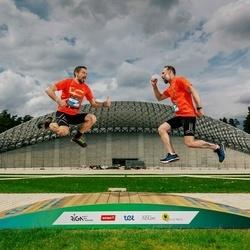 Trase Maratons Mežaparkā '21 - Ģirts Krastiņš (126), Artis Nīgals (130)
