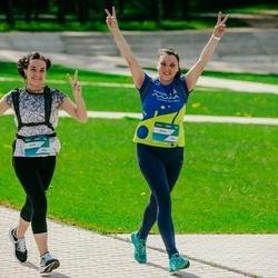 Trase Maratons Mežaparkā '21 - Anita Gavare (514), Olena Fomenki (516)