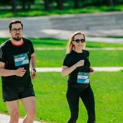 Trase Maratons Mežaparkā '21 - Liene Berķe (369), Kalvis Krūmiņš (372)