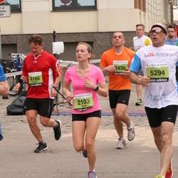 24. Nordea Riia maraton - Laura Deņisova (2103), Bogdan Nikkar (4166), Agris Veipāns (5294)