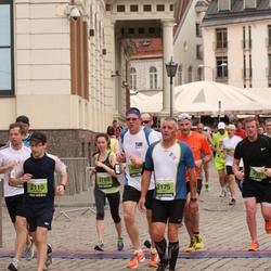 24. Nordea Riia maraton - Kristaps Pilskalns (2110), Eric Gerin (2175)