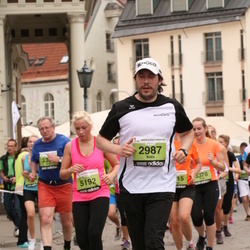 24. Nordea Riia maraton - Aldis Bubucis (2987), Agnese Jakuboviča (5192)