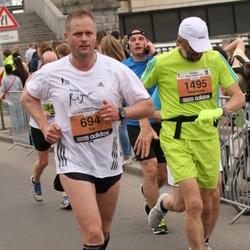24. Nordea Riia maraton - Kai Loukkaanhuhta (694), Gediminas Kinderis (1495)