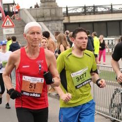 24. Nordea Riia maraton - Alf B. Dahl (51), Toms Kondratovičs (3477)