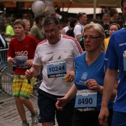 24. Nordea Riia maraton - Agrita Rutina (8490), Jānis Ceļmalnieks (10244)