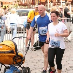 24. Nordea Riia maraton - Jānis Baldiņš (7237), Aija Baldiņa (7307)