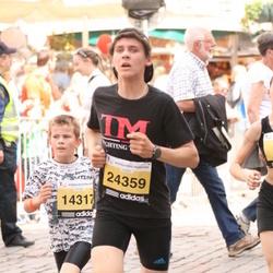 The 24th Nordea Riga marathon - Edijs Eiduks (14317), Kevins Kleins (24359)