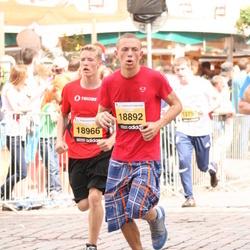 The 24th Nordea Riga marathon - Anrijs Rubess (18892), Jānis Ragovskis (18966)