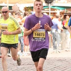 The 24th Nordea Riga marathon - Verners Ilgvars Priede (14673), Didzis Matvajs (16038)