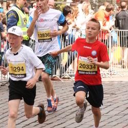 The 24th Nordea Riga marathon - Reinis Cimermanis (18294), Aleksis Belousovs (20334)