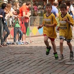 The 24th Nordea Riga marathon - Rainers Grīslītis (20428), Mārcis Skuja (20430)