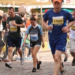The 24th Nordea Riga marathon - Anna Kudrjavceva (7595), Jānis Bratuška (14715), Ruslans Baranovs (17005)