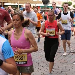 24. Nordea Riia maraton - Inita Zuša (15368), Agathe Julia (15621)