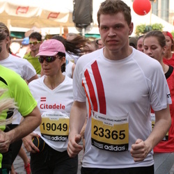 The 24th Nordea Riga marathon - Jūlija Balašova (19049), Harijs Pugačs (23365)