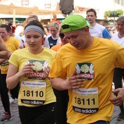 24. Nordea Riia maraton - Anete Romānova (18110), Artūrs Krasnais (18111)