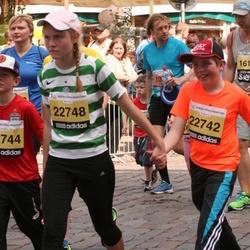 24. Nordea Riia maraton - Andris Holbergs (22742), Anna Holberga (22748)