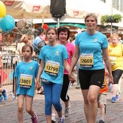 24. Nordea Riia maraton - Baiba Apkalna (12669), Adrija Dubkeviča (13799), Amanda Dubkeviča (13801)