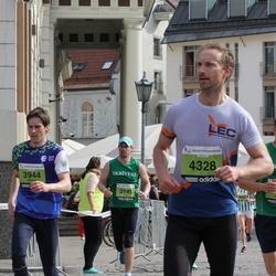 24. Nordea Riia maraton - Mārtiņš Kalniņš (3944), Agris Robs (4328)