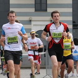 24. Nordea Riia maraton - Gatis Kaušs (2133), Dmitrijs Ruskovs (4565)