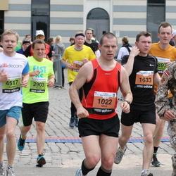 24. Nordea Riia maraton - Arne Ūdris (1022), Mārtiņš Sirmais (1546), Pjotrs Adjukovs (1633), Kristaps Kaupužs (4517)
