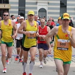 24. Nordea Riia maraton - Algimantas Kartočius (684), Darius Skaisgiris (686)