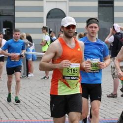24. Nordea Riia maraton - Edvīns Elferts (2866), Adrians Heidens (3165)