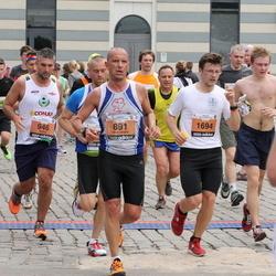 24. Nordea Riia maraton - Alessandro Tava (891), Mattia Maestri (946), Guntars Logins (1694)