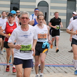24. Nordea Riia maraton - Alain Latour (1024), Emīls Gailis (1222), Juris Čerņadjevs (3162)