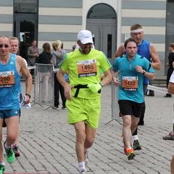 24. Nordea Riia maraton - Ēvalds Šaters (290), Guillaume Maltaverne (1422), Gediminas Kinderis (1495)