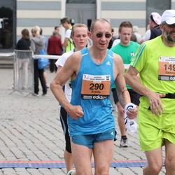 24. Nordea Riia maraton - Ēvalds Šaters (290), Gediminas Kinderis (1495), Kaspars Verbickis (5275)