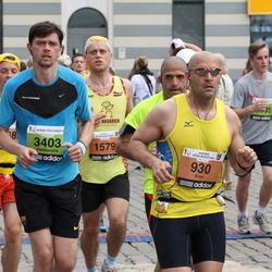 24. Nordea Riia maraton - Eran Yoel (930), Jānis Jekševics (1579), Aleksandrs Baranovs (3403)