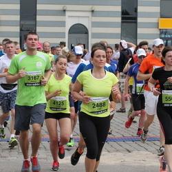 24. Nordea Riia maraton - Inga Heidemane (2488), Mārtiņš Stankevičs (3167), Linda Gudrīte (4125), Evita Vēvere (5500)