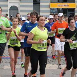 24. Nordea Riia maraton - Inga Heidemane (2488), Mārtiņš Stankevičs (3167), Linda Gudrīte (4125), Jānis Pūpols (5345), Evita Vēvere (5500)
