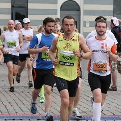 24. Nordea Riia maraton - Ainārs Kumpiņš (1250), Ēriks Kalliss (4529)