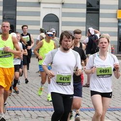 24. Nordea Riia maraton - Agris Bušs (4476), Liene Arāja (4491)