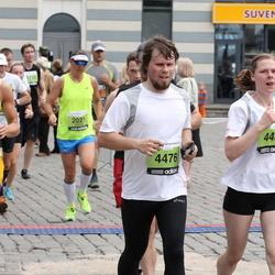 24. Nordea Riia maraton - Jānis Kliesmets (4460), Agris Bušs (4476), Liene Arāja (4491)