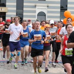 24. Nordea Riia maraton - Māris Tocups (1297), Ildar Ibragimov (1431), Andžejs Stenclavs (1565)