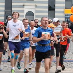 24. Nordea Riia maraton - Davids Arutyunyans (981), Māris Tocups (1297), Andžejs Stenclavs (1565)