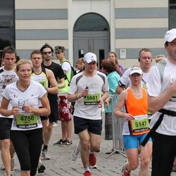 24. Nordea Riia maraton - Anita Švalbe (4756), Marika Rohtla (5147), Aigars Ozoliņš (5661)