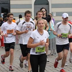 24. Nordea Riia maraton - Anita Švalbe (4756), Aigars Ozoliņš (5661)